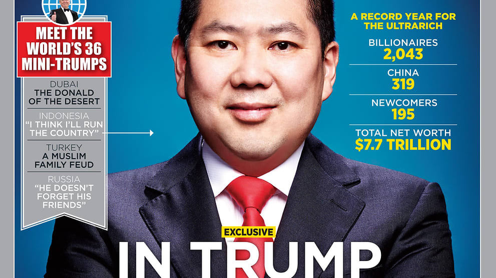 Forbes 2017 Billionaires List: Mainland Chinese make up