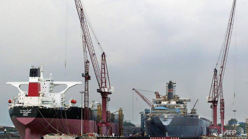 100 Keppel Shipyard workers who had 'direct contact' with COVID-19 cases placed on leave of absence