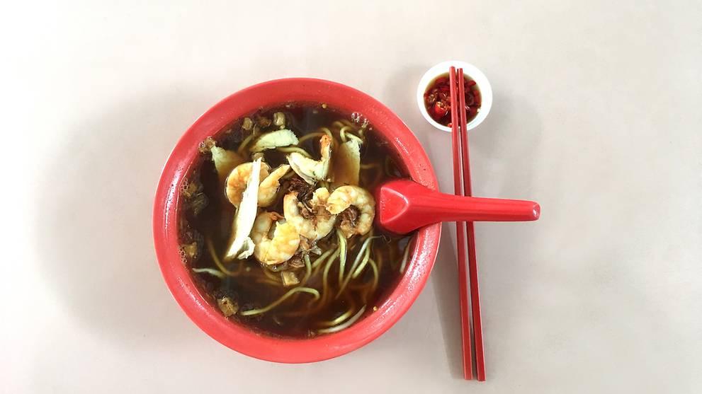5 places to get good prawn noodles