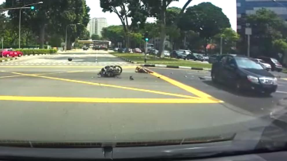 Motorcyclist Injured After Collision On Alexandra Road Cna