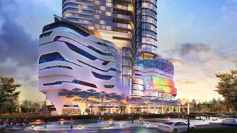 JB's Capital 21 mall with indoor theme park targets August opening - CNA