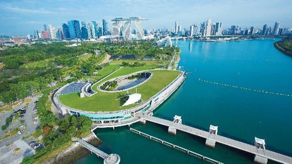 Kết quả hình ảnh cho Marina Barrage