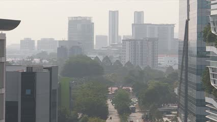 Businesses, sports events make contingency planes over haze threat | Video