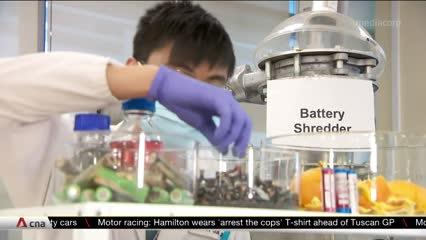 NTU researchers use orange peel to turn old batteries new | Video