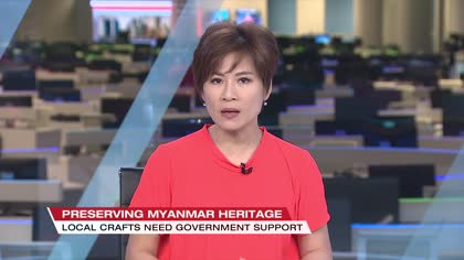 Myanmar  artisans fear traditional crafts will vanish without more government support | Video