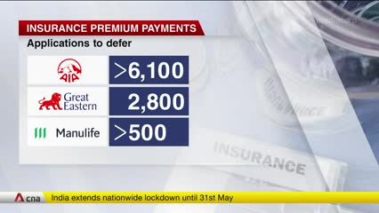 Thousands seeking to defer payments of insurance premiums | Video
