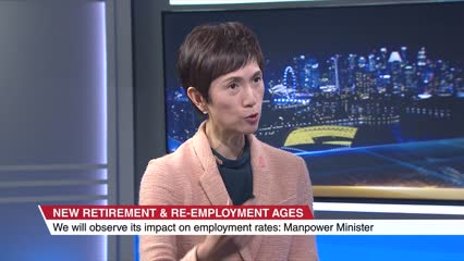 Companies are taking an interest in helping Singapore older workers stay relevant: Josephine Teo | Video