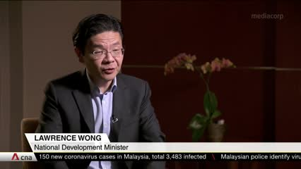 Singapore may extend COVID-19 'circuit breaker' if unlinked local cases rise: Lawrence Wong | Video