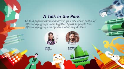 Task 10 A Talk in the Park: Nae and Saransh