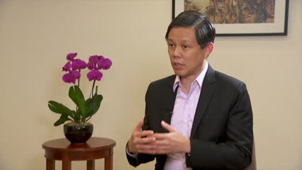 Support package to see Singapore through next 3 to 6 months, says Chan Chun Sing | Video