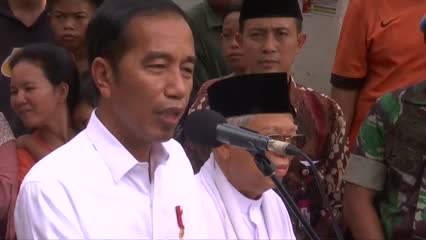President Widodo set to lead Indonesia for a second term in office | Video