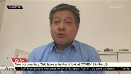 CNA+: Grit takes a first-hand look at COVID-19 in the US