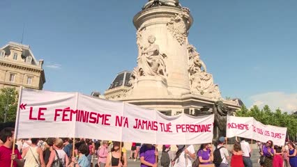 France government promises to take action amid increasing domestic violence | Video