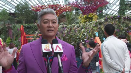 Gardens by the Bay marks Singapore's bicentennial with performances, orchid display | Video