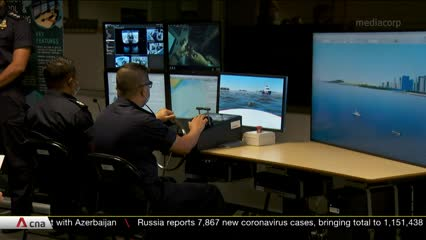 New Police Coast Guard simulators make training safer, more realistic | Video