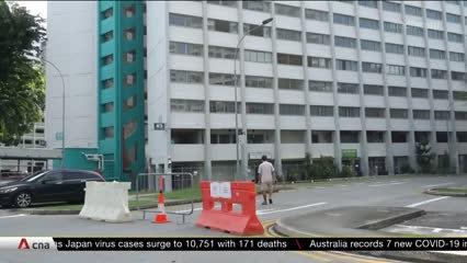 COVID-19: Residents in Taman Jurong moved to hotels as migrant workers relocate into vacant units | Video