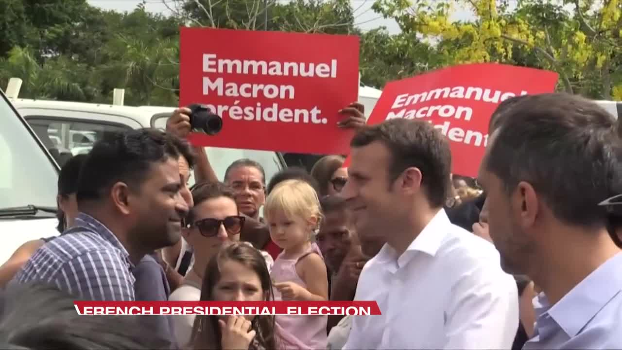 Macron's party accuses Russia of interfering in French presidential election