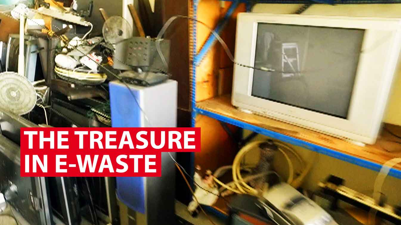 The wasted treasure in e-waste, and why it's tricky to recycle