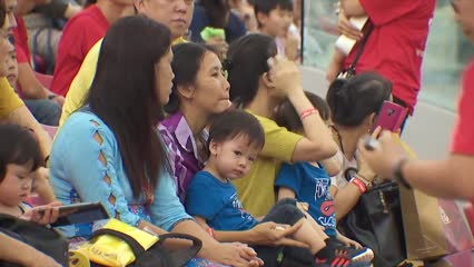 Peace and prosperity parade at Marina Bay attracts thousands | Video