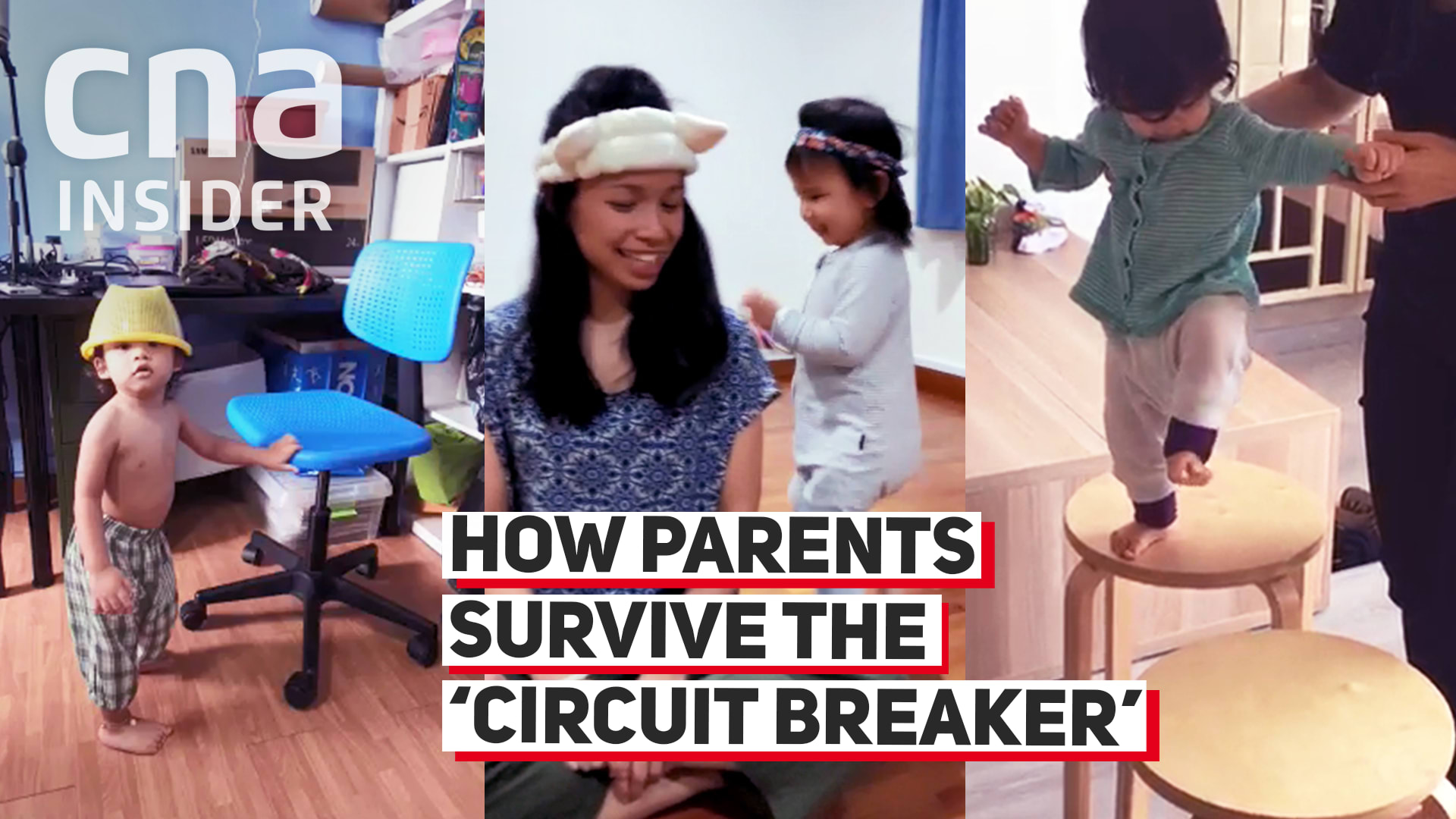 How parents survive the 'circuit breaker'