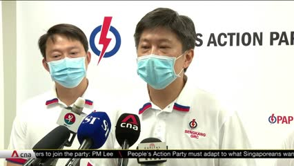 Lawrence Wong, Desmond Lee elected to PAP's top decision-making body for the first time | Video