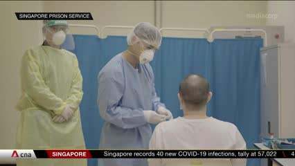 COVID-19 measures in Changi Prison keep inmates safe from transmissions | Video