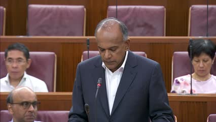 K Shanmugam wraps up debate on proposed law against online falsehoods