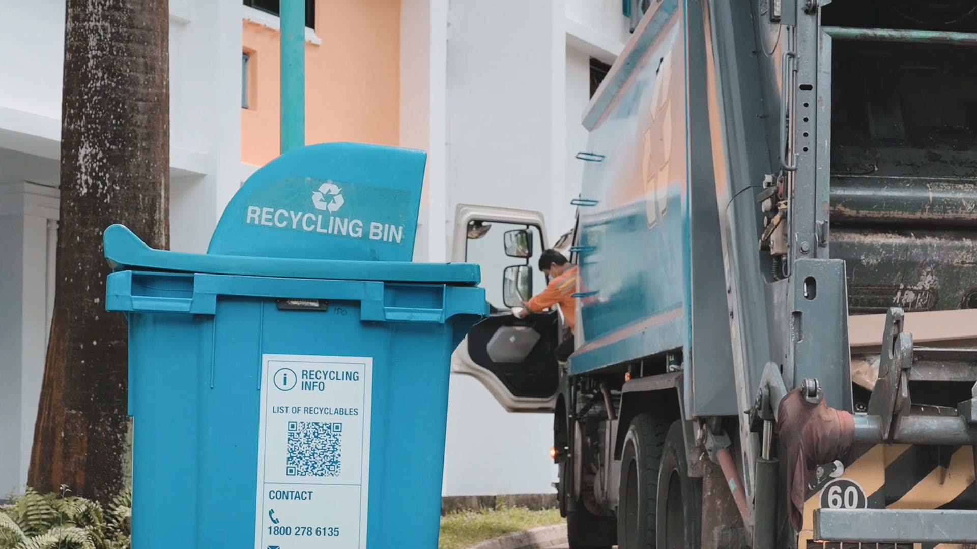 What happens to the trash you toss into the recycling bin? | Video