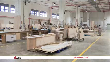 Singapore's factory activity plunges 22.3% in February from previous month amid COVID-19 outbreak | Video