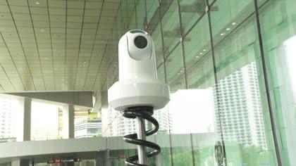 Singapore police deploy robot to patrol ASEAN Summit venue   Video