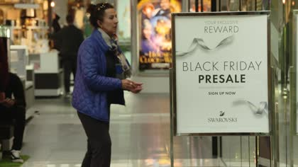 US shoppers await buying frenzy on Black Friday | Video