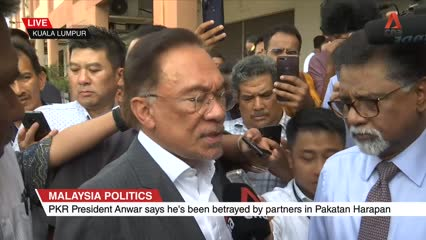 Anwar Ibrahim's first comments on Malaysian PM Mahathir Mohamad's resignation | Video