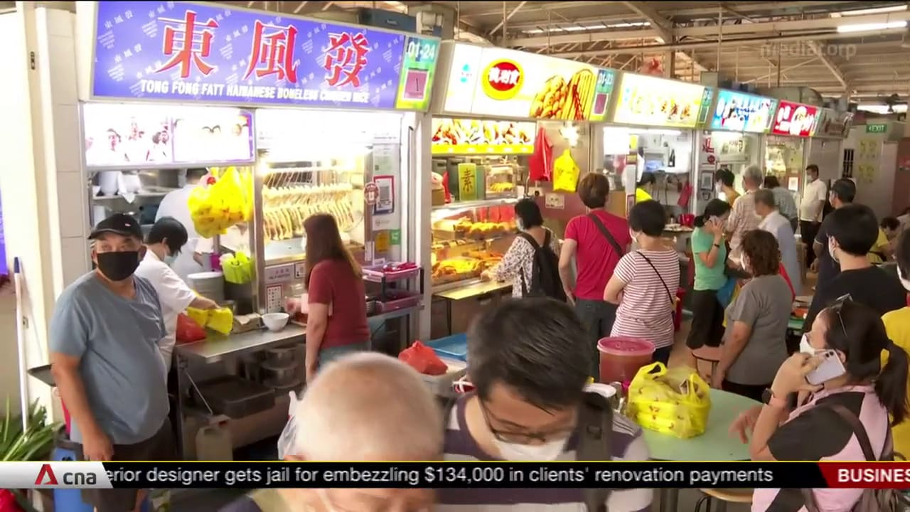 NEA to launch new scheme to help retiring veteran hawkers pass on skills, stalls to successors | Video
