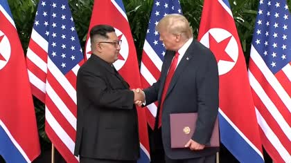 Singapore summit: Donald Trump says Kim Jong Un is 'worthy negotiator' | Video