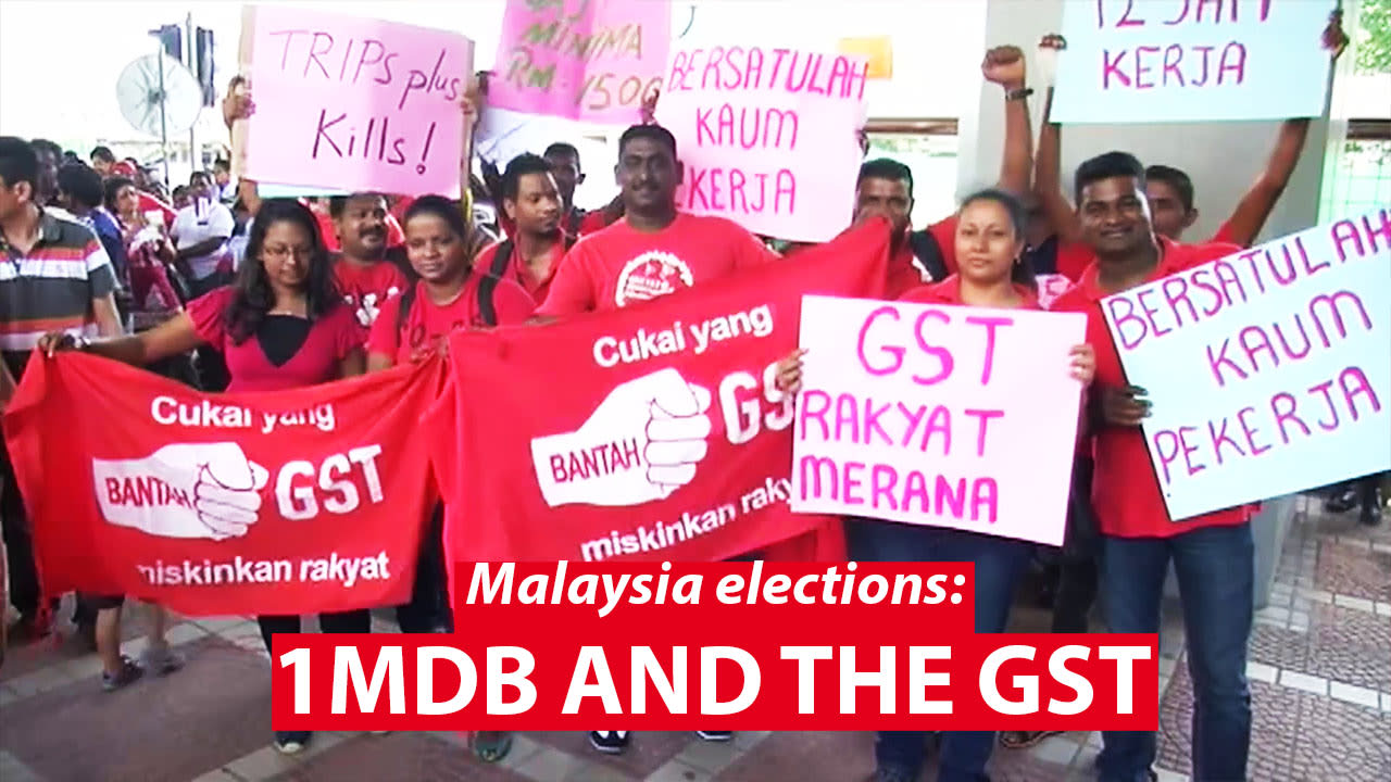 Malaysia General Election: 1MDB and the GST