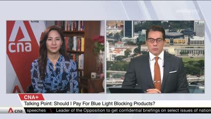 CNA+: Talking Point evaluates blue light blocking products