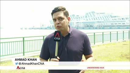 Costa Fortuna cruise passengers to undergo health checks when disembarking in Singapore | Video
