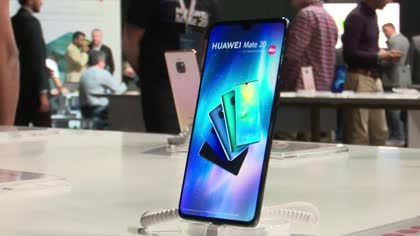 Chinese phonemaker Huawei eyes European markets | Video