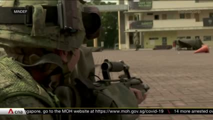 About 800 soldiers take part in major drill after easing of some COVID-19 restrictions | Video