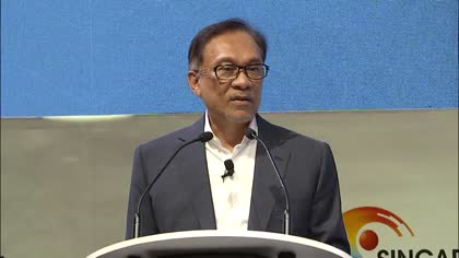 Anwar Ibrahim at the Singapore Summit