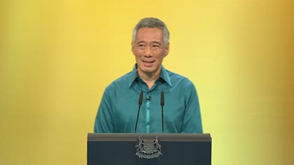 Prime Minister Lee Hsien Loong's National Day Rally speech in English | Video