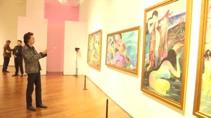 Raising awareness of fake paintings in Indonesia   Video