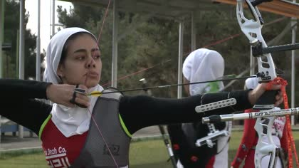 Iran's female athletes gear up for Asian Games | Video