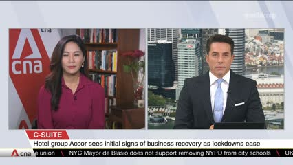 CNA+: Interview with Michael Issenberg, Chairman & CEO, Accor Asia Pacific