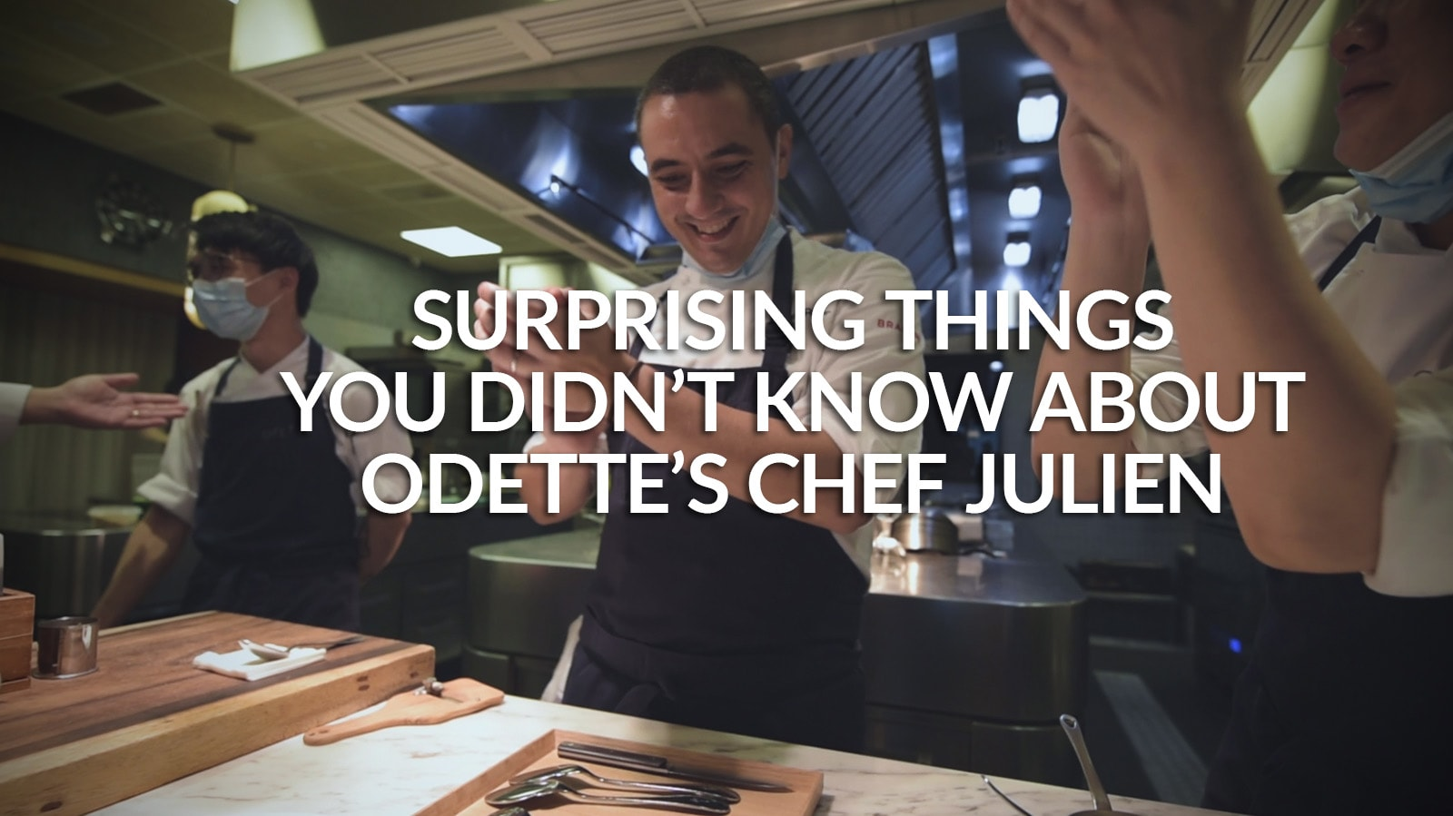 Who's the real Chef Julien Royer behind top Singapore restaurant Odette? | CNA Lifestyle