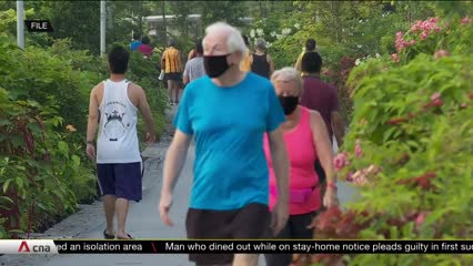 Risk of being infected with COVID-19 while exercising outdoors very low, say experts   Video
