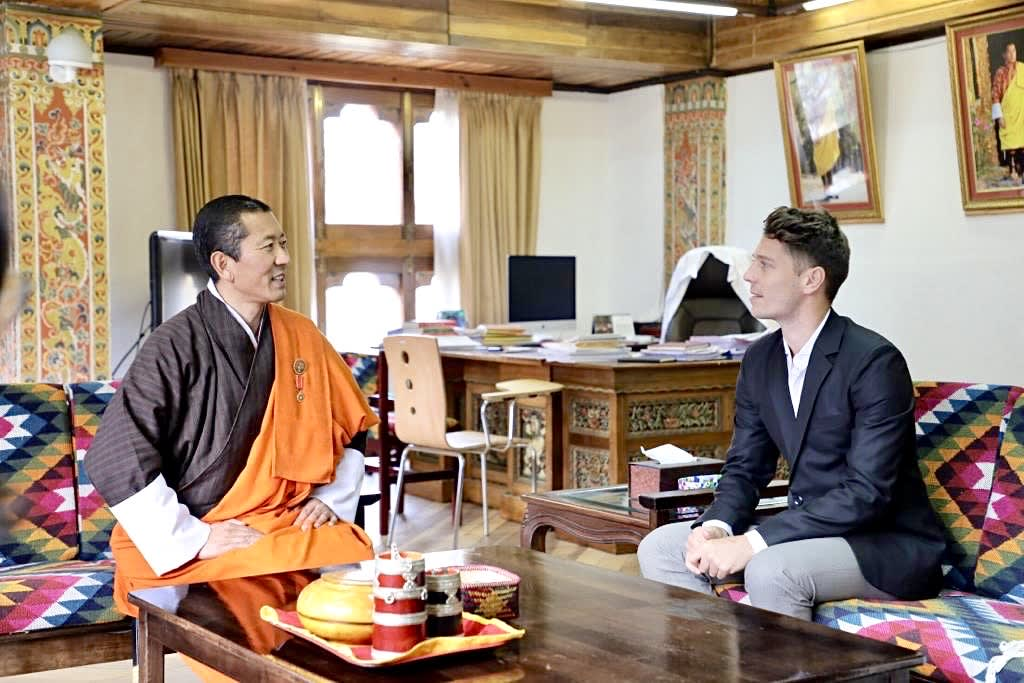 "Exclusive: Bhutan ""under constant threat"" from climate change, PM Lotay Tshering says 