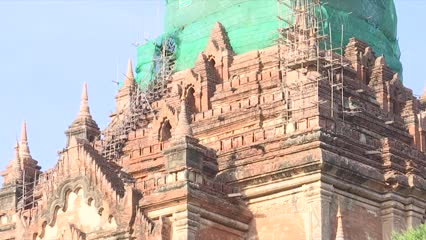 Myanmar's ancient city of Bagan listed as World Heritage site | Video