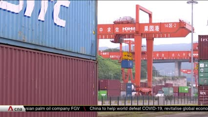 Trade volume along Singapore-China land-sea corridor up despite COVID-19 pandemic | Video