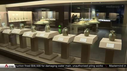Asian Civilisations Museum to showcase Tang Dynasty Shipwreck Collection exhibition in China | Video